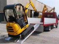 Hliníkové nájezdy MM115 2500 mm, max.nosnost 4000 kg Metalmec
