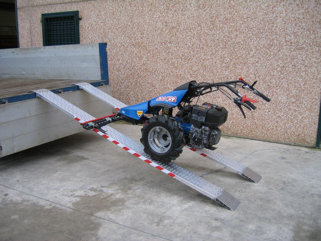 Hliníkové nájezdy MM030 - 2500 mm, max.nosnost 553 kg Metalmec