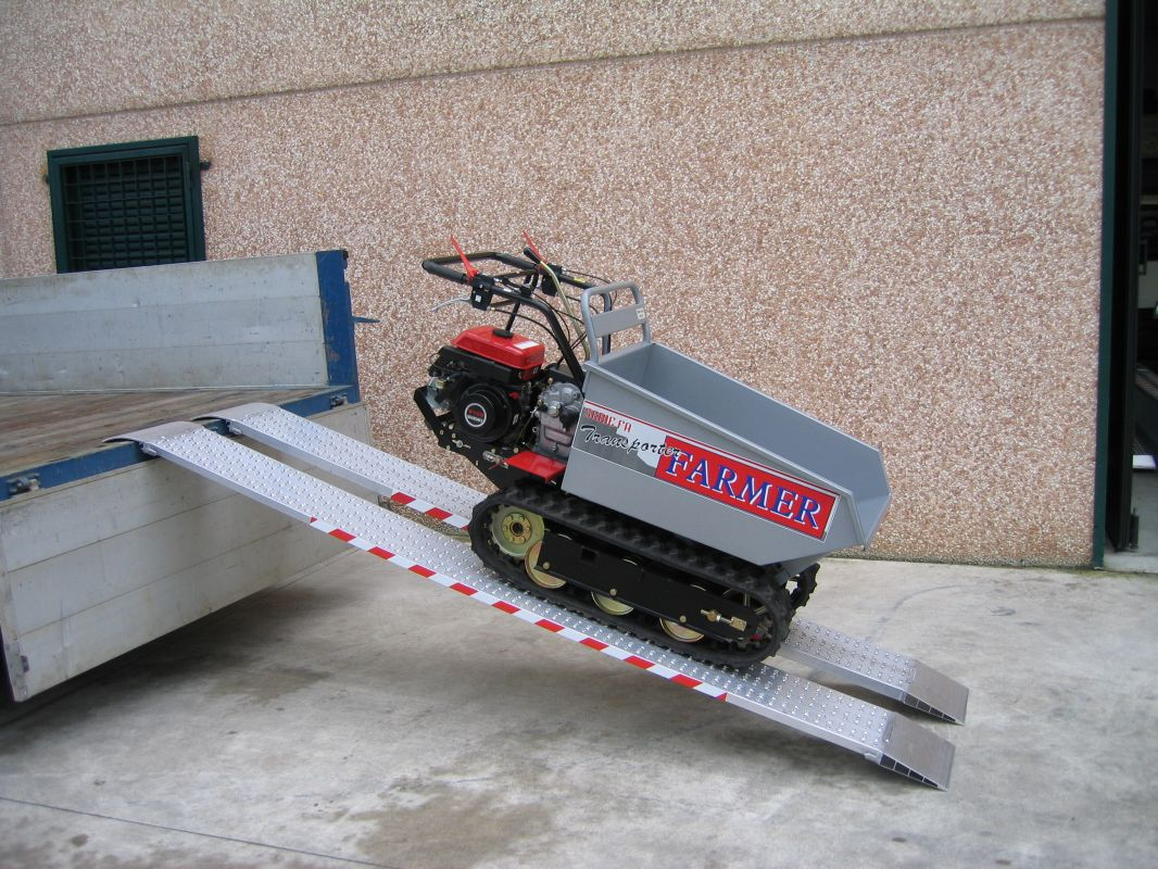 Hliníkové nájezdy MM035 - 2000 mm, max.nosnost 1178 kg Metalmec