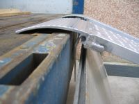 Hliníkové nájezdy MM045 - 1500 mm, max.nosnost 2370 kg Metalmec