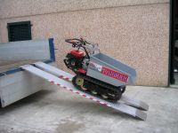 Hliníkové nájezdy MM045 - 2500 mm, max.nosnost 1421 kg Metalmec