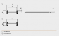 Hliníkové nájezdy MM080 3000 mm, max.nosnost 1674 kg Metalmec