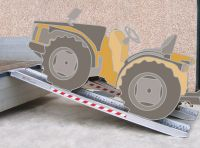 Hliníkové nájezdy 1500-4500 kg  M100,M115,M125