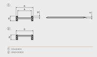 Hliníkové nájezdy MM075 2000 mm, max.nosnost 3500 kg Metalmec