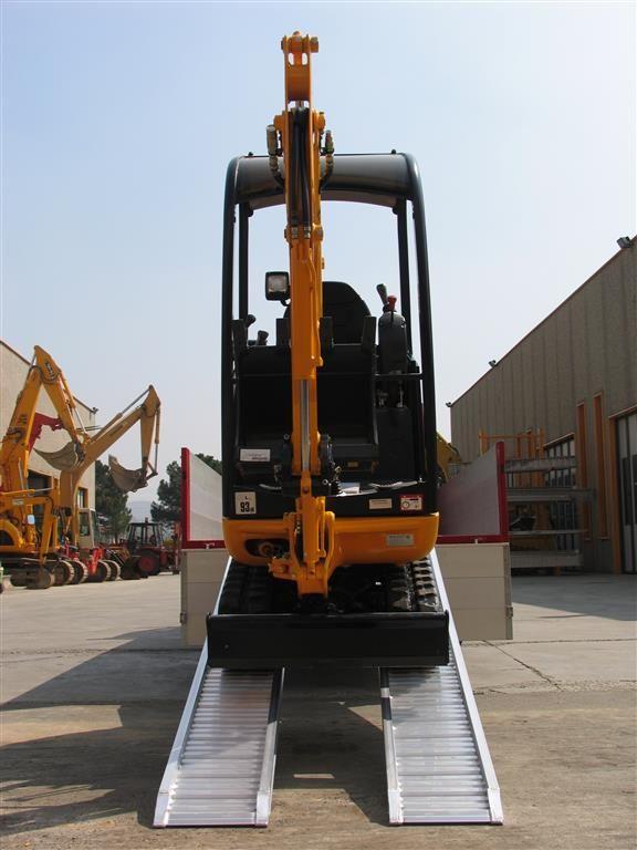 Hliníkové nájezdy MM080 2000 mm, max.nosnost 3000 kg Metalmec