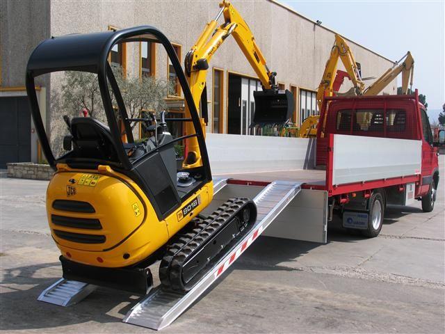Hliníkové nájezdy MM115 4000 mm, max.nosnost 1800 kg Metalmec