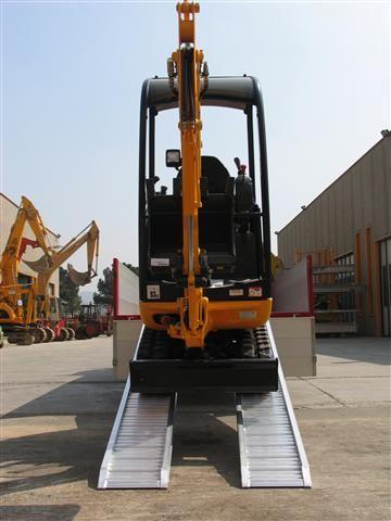 Hliníkové nájezdy MM125 3500 mm, max.nosnost 3435 kg Metalmec