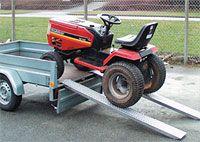 Hliníkové nájezdy přímé MM010S0 - 2000 mm, max.nosnost 500 kg Metalmec