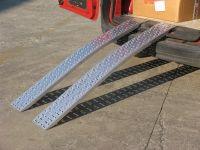 Hliníkové nájezdy obloukové MM015S0 - 2500 mm, max.nosnost 850 kg Metalmec