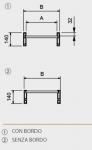 Hliníkové nájezdy M140 3000 mm, max.nosnost 5500 kg Metalmec