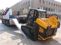 Hliníkové nájezdy M160 2500 mm, max.nosnost 9000 kg