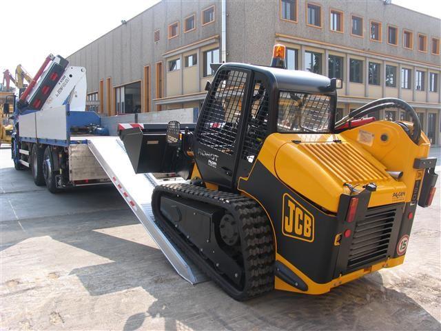 Hliníkové nájezdy M160 2500 mm, max.nosnost 9000 kg Metalmec