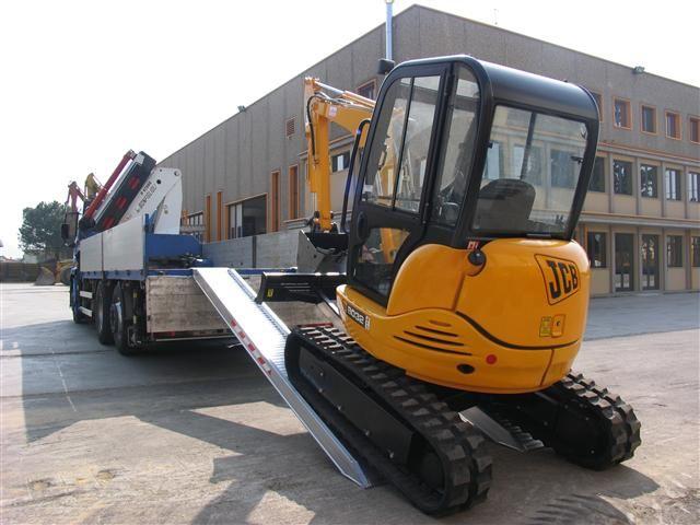 Hliníkové nájezdy M150 3000 mm, max.nosnost 6000 kg Metalmec