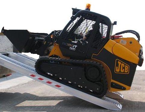 Hliníkové nájezdy M170 4000 mm, max.nosnost 6385 kg Metalmec