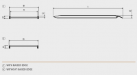 Hliníková nájezdová rampa MPC - 2000x1000 mm, max.nosnost 1000 kg Metalmec