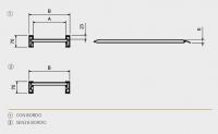 Hliníkové nájezdy MM070 3000 mm, max.nosnost 1085 kg Metalmec