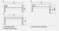 Hliníkové nájezdy M151 3000 mm, max.nosnost 8000 kg Metalmec