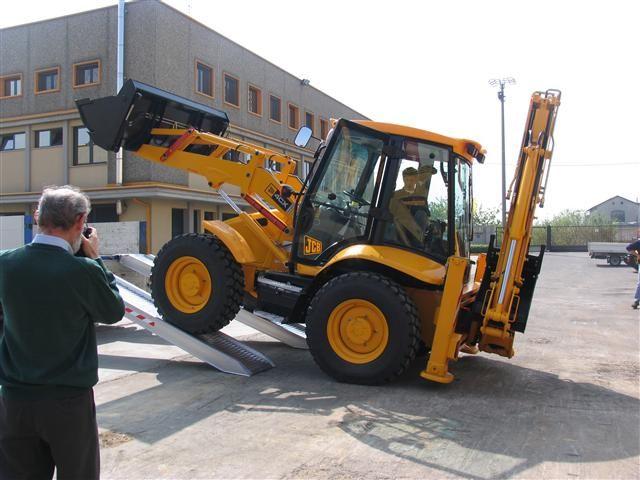 Hliníkové nájezdy M200 2500 mm, max.nosnost 12000 kg Metalmec