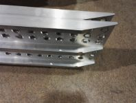 Hliníkové nájezdy přímé MM010S0 - 1500 mm, max.nosnost 600 kg Metalmec