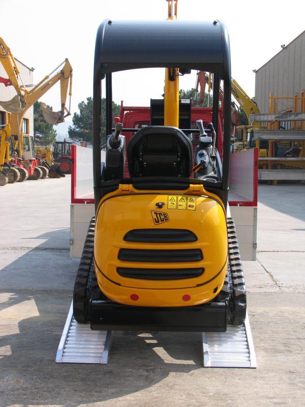 Hliníkové nájezdy MM115 3500 mm, max.nosnost 2250 kg Metalmec
